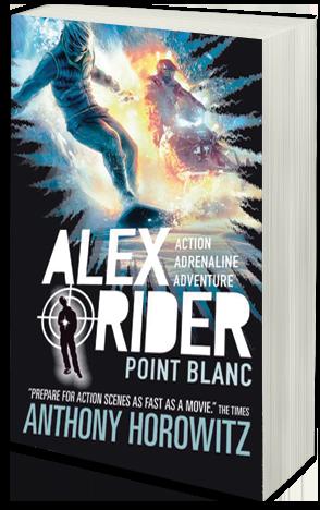Alex Rider Point Blanc Book