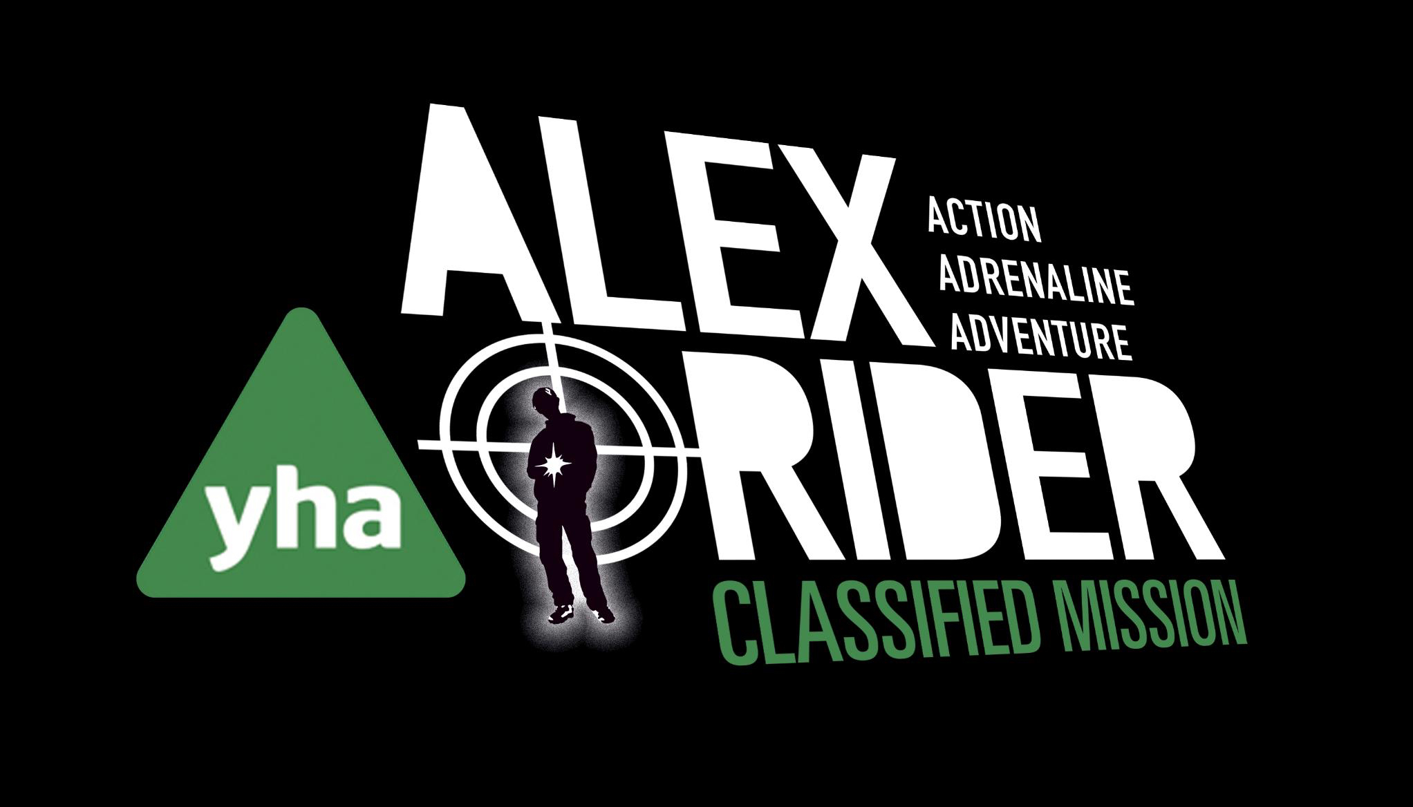 New YHA logo Alex Rider Classified Mission