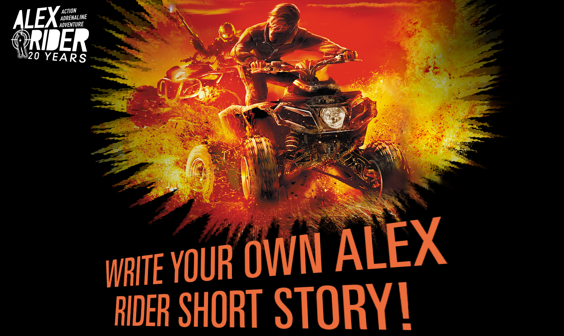 Write Your Own Alex Rider Short Story